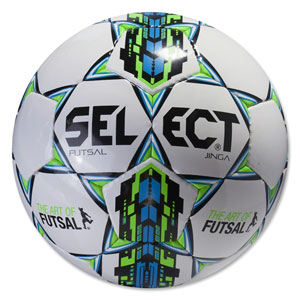 Select Futsal Jinga Soccer Ball - White/Blue 14600500010101