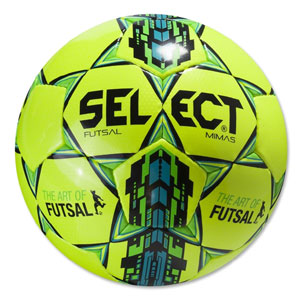 Select Futsal Mimas Soccer Ball - Yellow/Blue 145500303101010