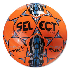 Select Futsal Magico Soccer Ball - Orange 14600505010101