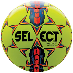 Select Brilliant Super Replica Soccer Ball - Yellow/Blue 038858878-02