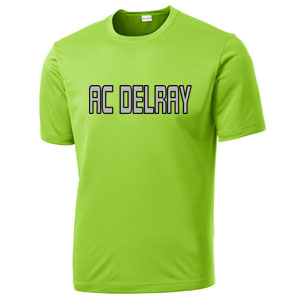 AC Delray Training Jersey - Lime Shock AC-ST350LMSK