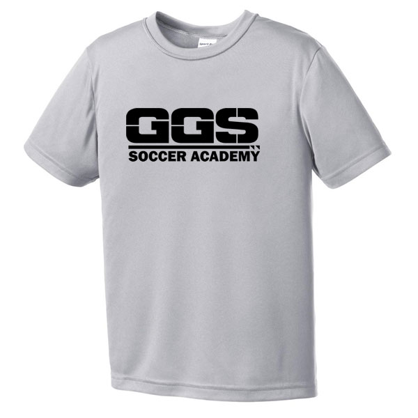 e7c41b98ad7f Magasin Golden Goal Sports Youth Training Jersey - Silver GGS-YST350SLSK -  AuthenticSoccer.com
