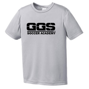 Golden Goal Sports Youth Training Jersey - Silver GGS-YST350SLSK