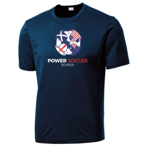 Power Soccer Youth Training Jersey - Navy YST350-PSSOE