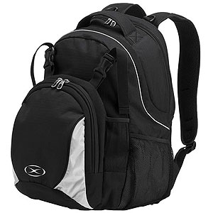 Xara Magna Backpack - Black xara7006blk
