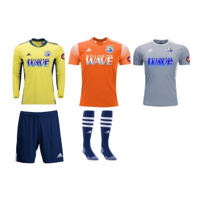 Wellington Wave SC - ECNL GIRLS - Youth Required Goalkeeping Kit WWSC-YTGGKT-ECNL