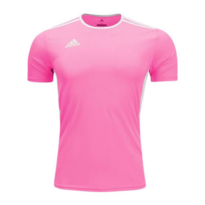 adidas Youth Entrada 18 Jersey - Solar Pink/White CZ1069