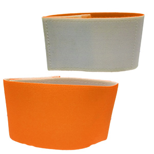 Shin Guard Stay (Reversible) - Orange/White GUARDSTAY13