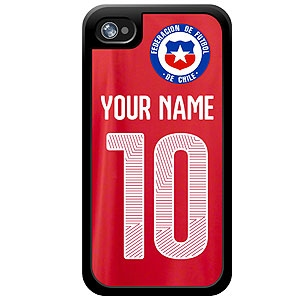 Chile Custom Player Phone Cases - iPhone (All Models) iph-chi-plyr