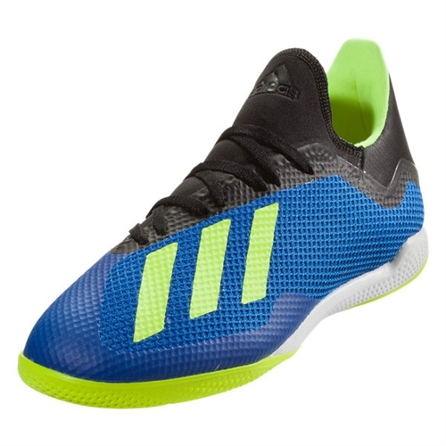 info for f7ff3 14a77 adidas X Tango 18.3 IN - Football BlueSolar YellowCore Black Indoor DB1954