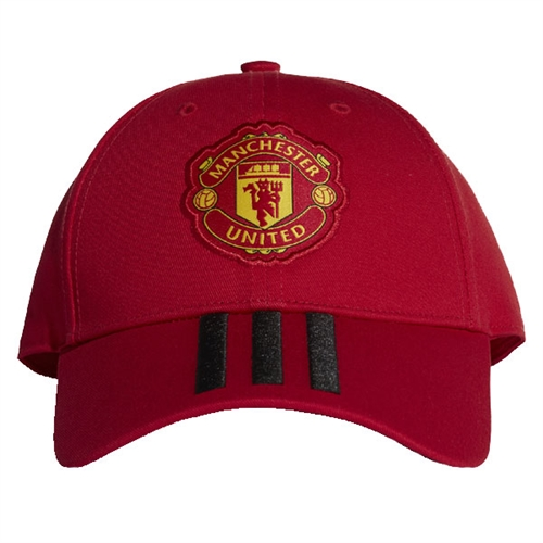 adidas Manchester United 3 Stripe Hat 2018 CY5584