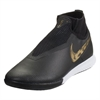 Nike Phantom Vision Pro DF IC - Black/Metallic Vivid Gold Indoor AO3276-077