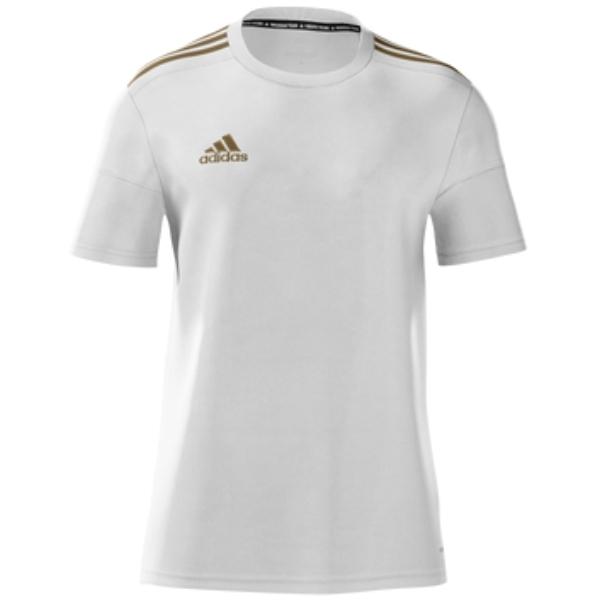 adidas Youth mi Squadra 17 Jersey - White/Gold