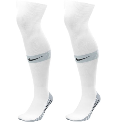 Nike Team Match Fit Over The Calf Socks - White/Jet Stream SX6836-102