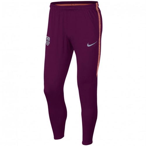 bcc3ad7e76 Nike Barcelona Dri Fit Squad Pant 2018 - Deep Maroon Light Atomic Pink  894357-