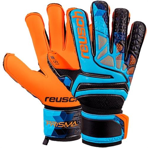 7eed8381e7f Reusch Prisma Prime S1 Evolution LTD Finger Support Goalkeeper Glove - Blue /Black/Shocking