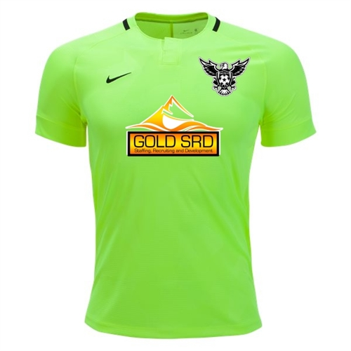 North Texas United FC Nike Youth Challenge II Goalkeeping Jersey - Volt/Black TUFC-894063-702