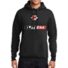 Elite SA Hooded Sweatshirt - Black  Elite-Hood