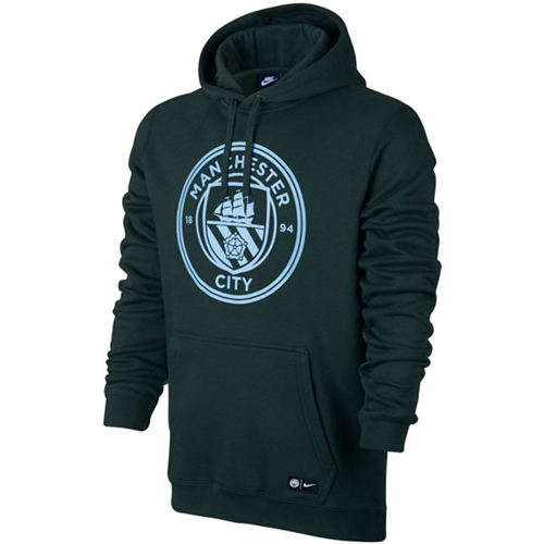 Manchester City Hoodie - Outdoor Green/Field Blue 886773-336