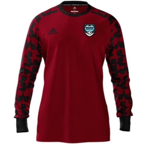 0e75cd208 Jensen Beach Soccer Club adidas Mi Assita 17 Goalkeeper Jersey - Red/Black  JBSC-