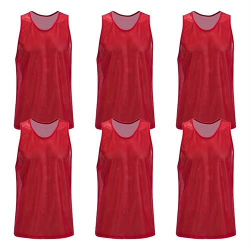 Kwik Goal Training Vest - Red - Pack Of 6 19A1-R6