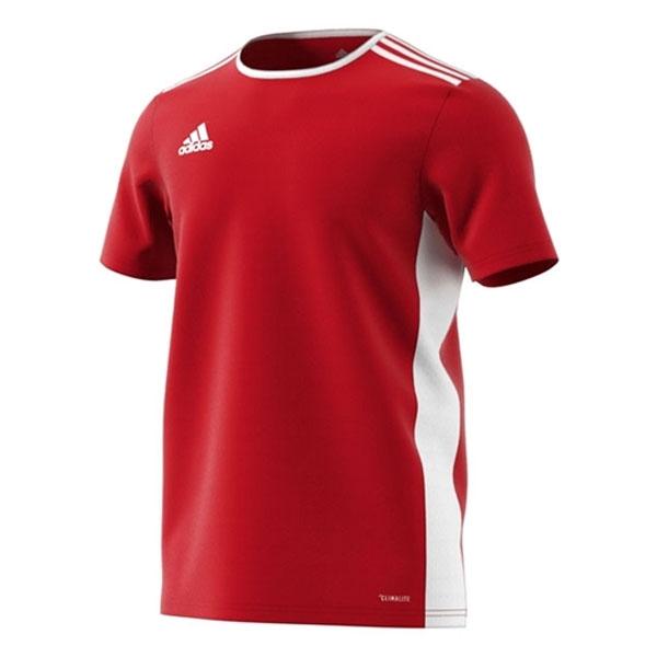 adidas Entrada 18 Jersey - Red/White CF1038 - AuthenticSoccer.com