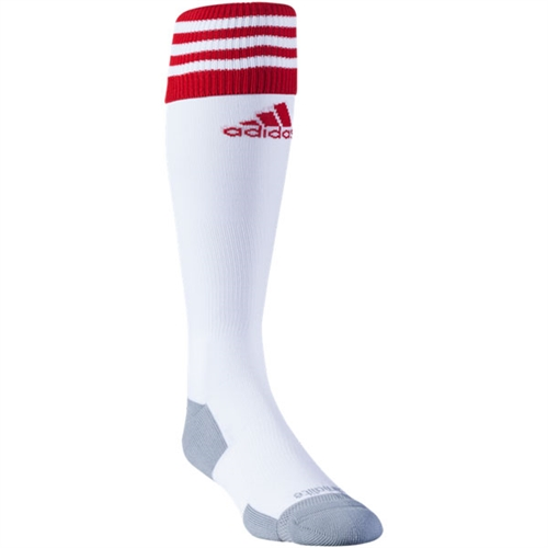 adidas Copa Zone Cushion II Socks - White/Red 5130310Wh