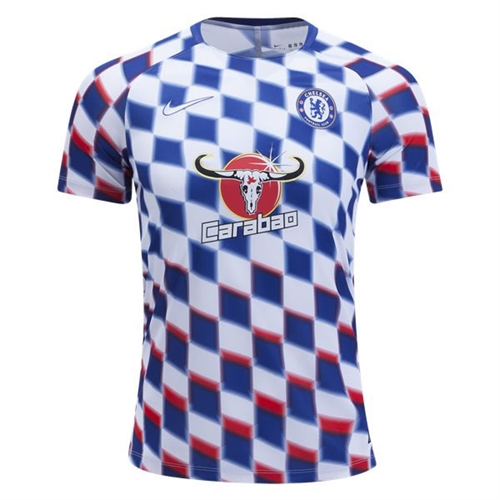 new product 48cff 50ce4 Nike Chelsea FC Squad Top 2018 - White/Rush Blue