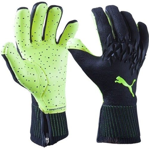 Puma Future Grip 19.1 Goalkeeping Gloves - Black/Yellow