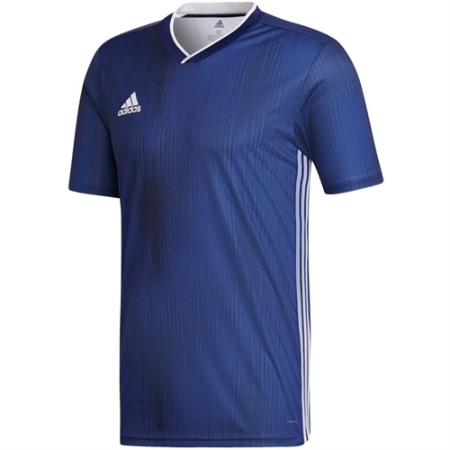 adidas Youth Tiro 19 Jersey - Dark Blue/White DP3180