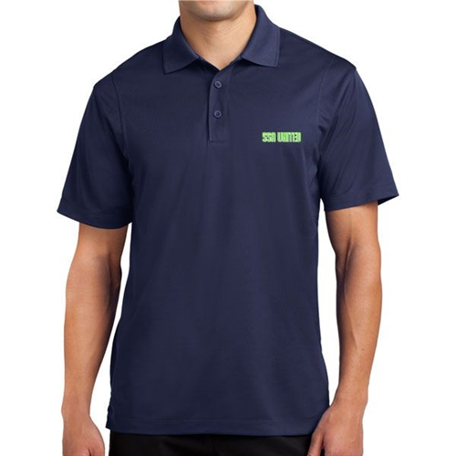 SSA United Polo Shirt - Navy SSAPoloNav