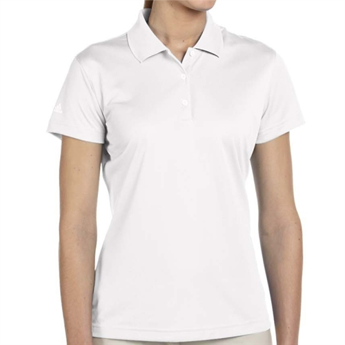 adidas Women's Basic Polo - White A131W