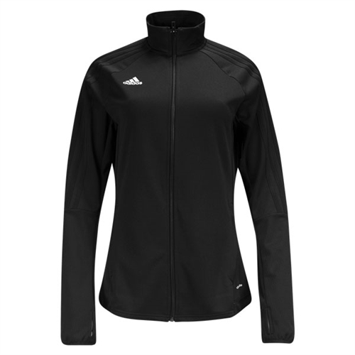 adidas Women's Tiro 17 Training Jacket - Black/White BK0387