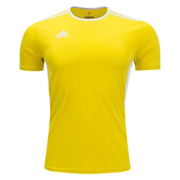 adidas Youth Entrada 18 Jersey - Solar Yellow/White CF1039