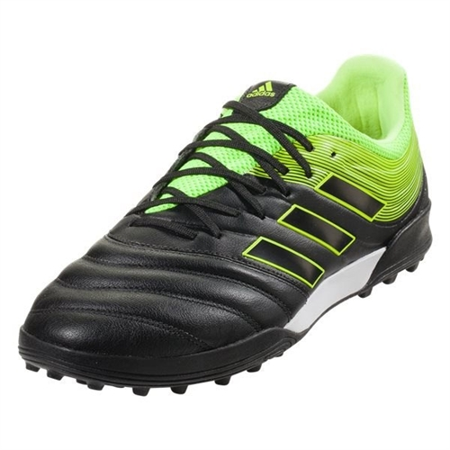adidas Copa 19.3 TF - Core Black/Solar Yellow Turf BB8094