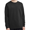 Port & Company Cotton Youth Long Sleeve T-Shirt - Black PC54YLS-Blk