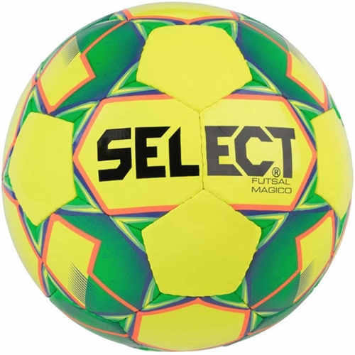 Select Futsal Magico Soccer Ball - Yellow/Green 1480050500010101