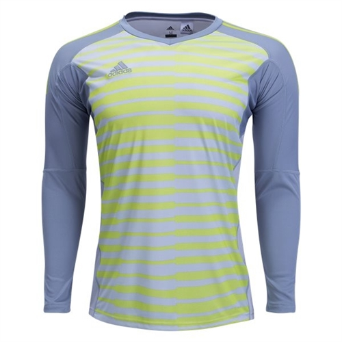 f34f4721e8c adidas adiPro 18 Goalkeeper Jersey - Light Grey Solar Yellow CV6351