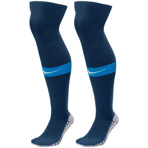 9b42ee6c2 Nike Team Match Fit Over The Calf Socks - Midnight Navy/Game Royal SX6836-