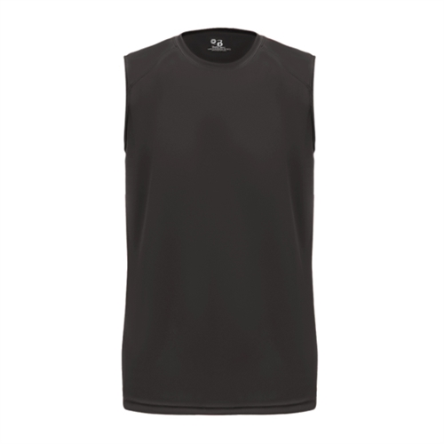 Badger B-Core Sleeveless Tee - Black 413000