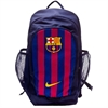 Nike Barcelona Stadium Backpack - Obsidian/Deep Royal Blue/University Gold BA53634510101