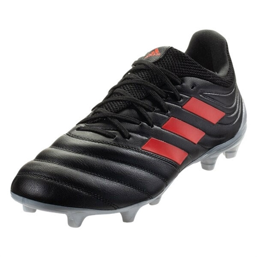 adidas Copa 19.3 FG - Core Black/Hi Res Red F35494