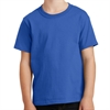 Port & Company Core Cotton Youth T-Shirt - Black PC54Y-Blk
