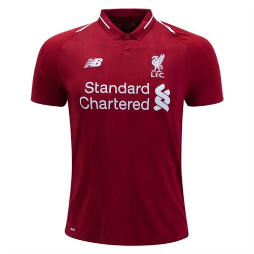 New Balance Liverpool Home Jersey 2018-2019 MT830000