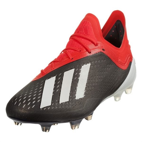 adidas X 18.1 FG - Core Black/Active Red BB9345