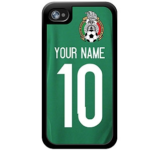 more photos ffcb9 ad530 Mexico Custom Player Phone Cases - iPhone (All Models)