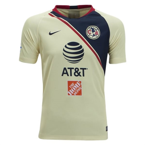 reputable site 5551d 70aa1 Nike Club America Youth Home Jersey 2018-2019