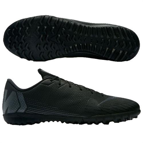 online retailer a9d76 a01b4 Nike Mercurial Vapor X 12 Academy TF - Black/Black Turf