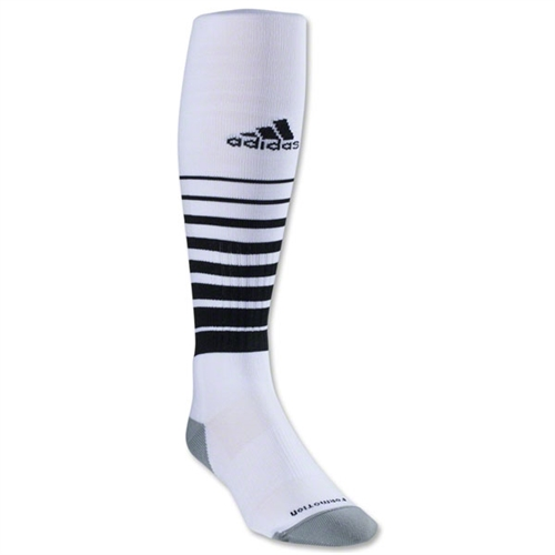 adidas Team Speed Soccer Sock - White/Black 5130191TS