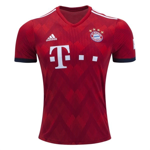 info for 38f1b 3e2e6 adidas Bayern Munich Home Jersey 2018-2019